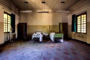 hospital, room, inside
