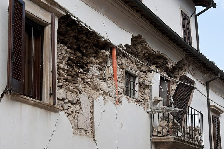 earthquake, rubble, collapse